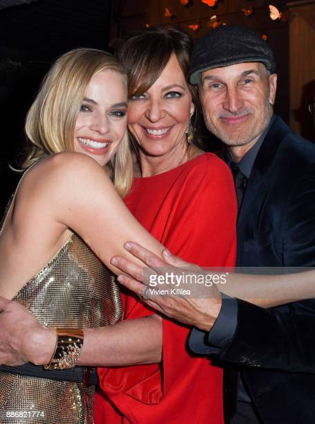 Margot Robbie Allison Janney and Craig Gillespie attend NEON and 30WEST Present the Los Angeles Premiere of 'I Tonya' Supported By Svedka on December...