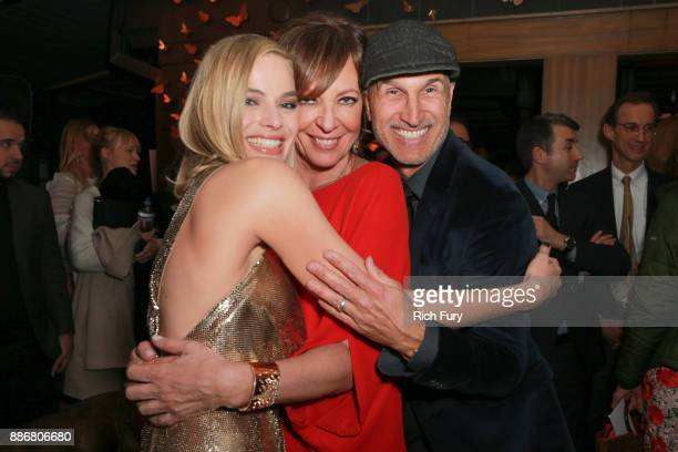 Margot Robbie Allison Janney and Craig Gillespie attend the after party for the premiere of Neon and 30 West's I Tonya on December 5 2017 in...
