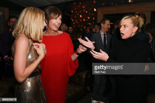 Margot Robbie Allison Janney and Jaime Pressly attend the after party for the premiere of Neon and 30 West's I Tonya on December 5 2017 in Hollywood...