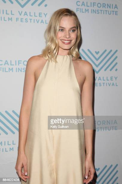 Margot Robbie and Allison Janney arrive on the red carpet for a premiere of 'I Tonya' at the Christopher B Smith Rafael Film Center on December 2...