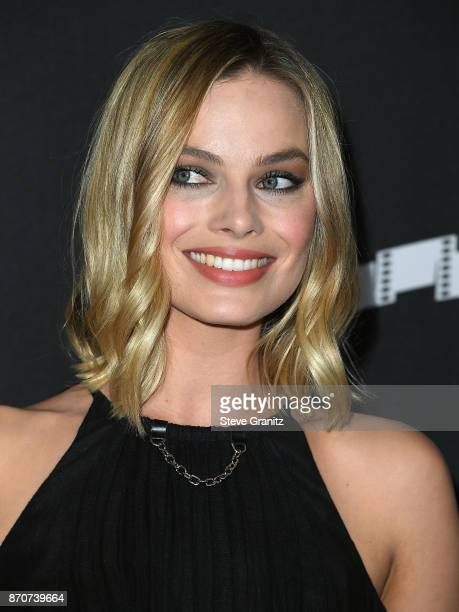 Margot Robbie arrives at the 21st Annual Hollywood Film Awards at The Beverly Hilton Hotel on November 5, 2017 in Beverly Hills, California.