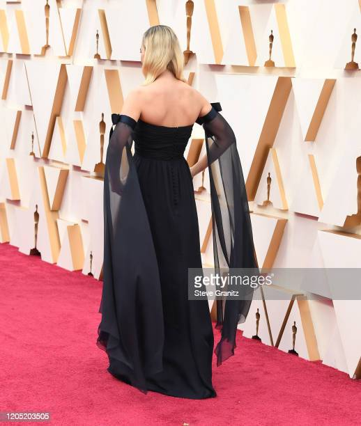 Margot Robbie arrives at the 92nd Annual Academy Awards at Hollywood and Highland on February 09 2020 in Hollywood California