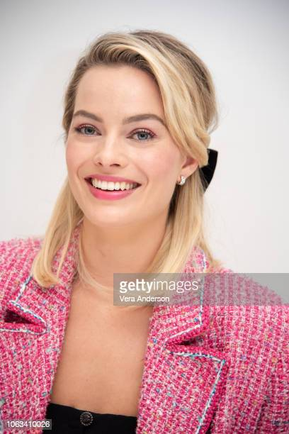 Margot Robbie at the Mary Queen of Scots Press Conference at the Four Seasons Hotel on November 16 2018 in Beverly Hills California