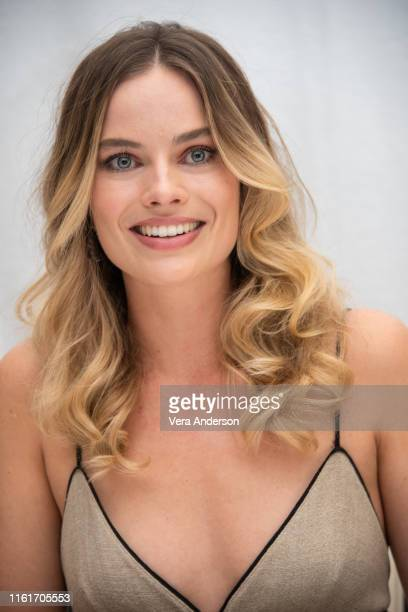 Margot Robbie at the Once Upon A Time In Hollywood Press Conference at the Four Seasons Hotel on July 12 2019 in Beverly Hills California
