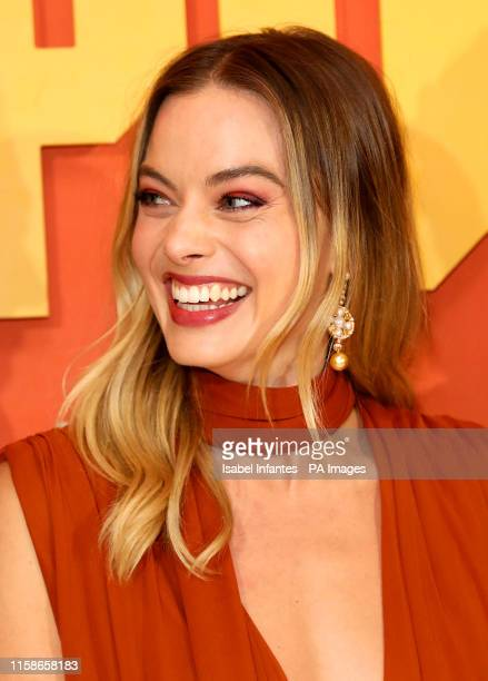 Margot Robbie attending the Once Upon A Time In Hollywood UK premiere in Leicester Square London