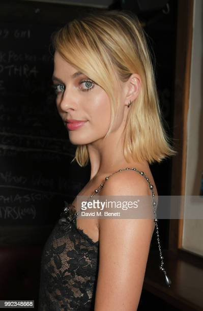 Margot Robbie attends a special screening of Terminal at Prince Charles Cinema on July 5 2018 in London England