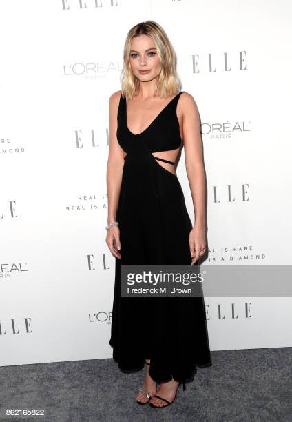 Margot Robbie attends ELLE's 24th Annual Women in Hollywood Celebration at Four Seasons Hotel Los Angeles at Beverly Hills on October 16 2017 in Los...