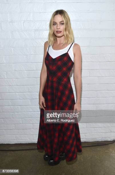 Margot Robbie attends 'Indie Contenders Roundtable' at AFI FEST 2017 Presented By Audi at Hollywood Roosevelt Hotel on November 12 2017 in Hollywood...