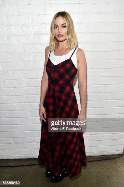 Margot Robbie attends Indie Contenders Roundtable at AFI FEST 2017 Presented By Audi at Hollywood Roosevelt Hotel on November 12 2017 in Hollywood...