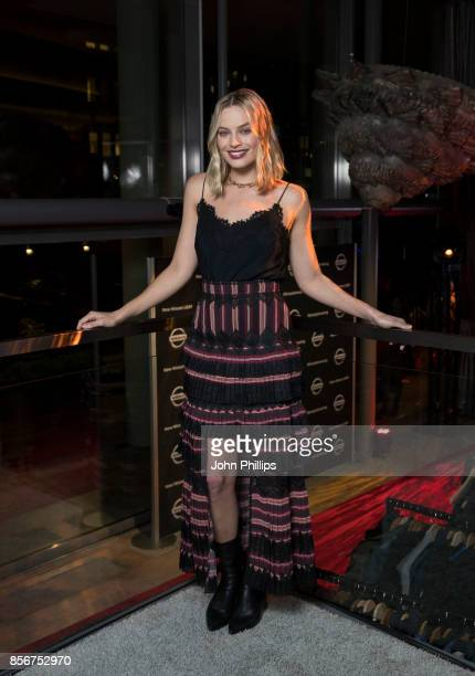 Margot Robbie attends Nissan's Futures 30 event to announce three new Nissan sustainability projects at Tjuvholmen Sjomagasin on September 2 2017 in...