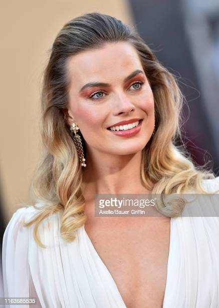 "Margot Robbie attends Sony Pictures' ""Once Upon a Time ... In Hollywood"" Los Angeles Premiere on July 22, 2019 in Hollywood, California."