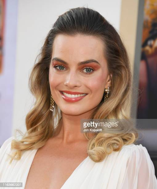 """Margot Robbie attends Sony Pictures' """"Once Upon A Time...In Hollywood"""" Los Angeles Premiere on July 22, 2019 in Hollywood, California."""