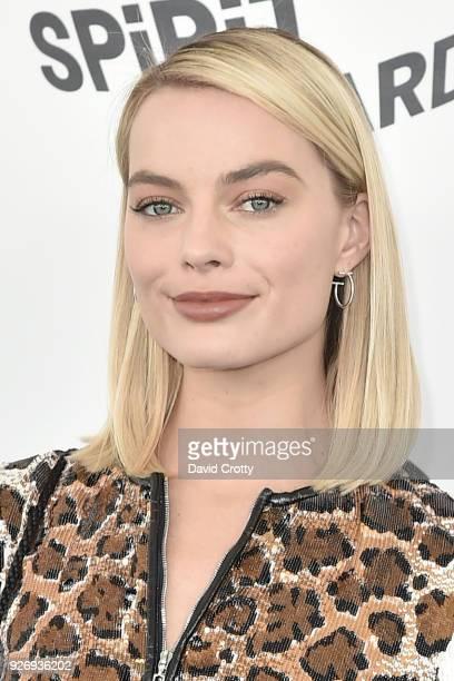 Margot Robbie attends the 2018 Film Independent Spirit Awards Arrivals on March 3 2018 in Santa Monica California