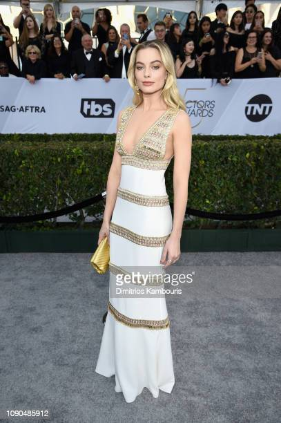 Margot Robbie attends the 25th Annual Screen Actors Guild Awards at The Shrine Auditorium on January 27, 2019 in Los Angeles, California. 480595