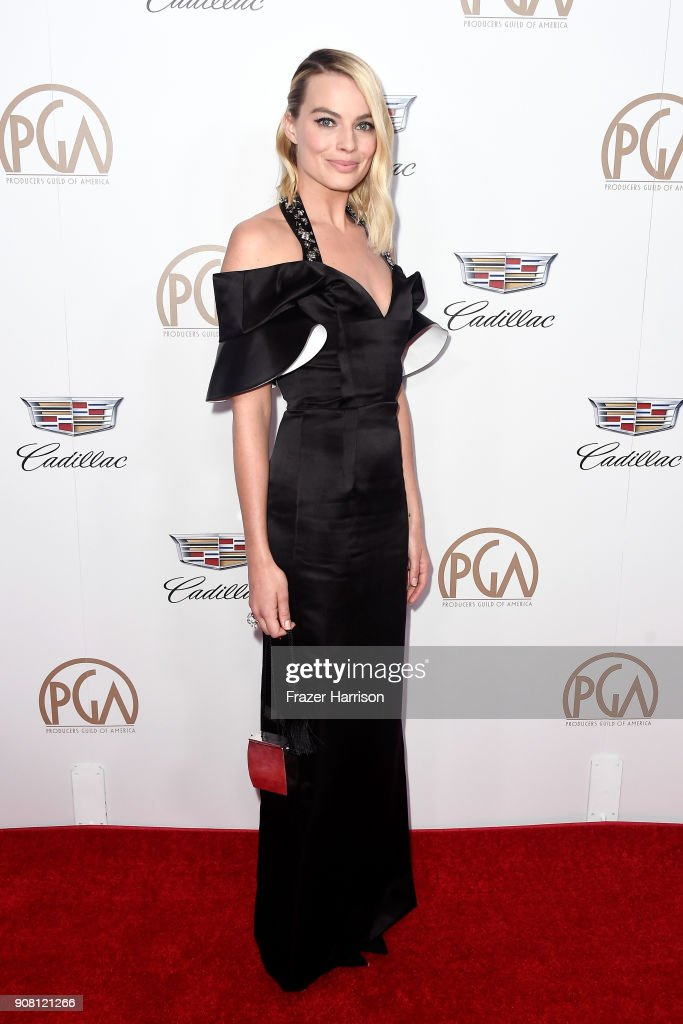 Margot Robbie attends the 29th Annual Producers Guild Awards at The Beverly Hilton Hotel on January 20, 2018 in Beverly Hills, California.
