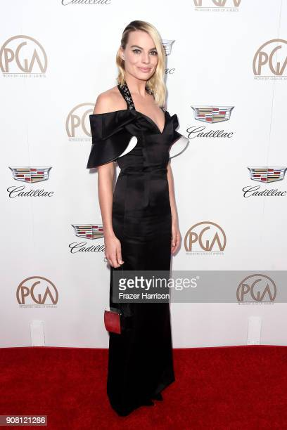 Margot Robbie attends the 29th Annual Producers Guild Awards at The Beverly Hilton Hotel on January 20 2018 in Beverly Hills California