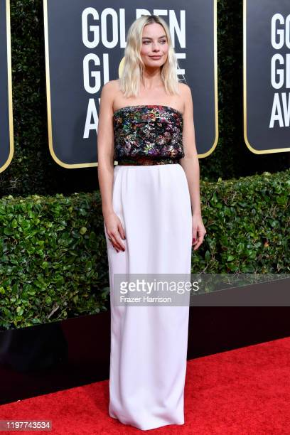 Margot Robbie attends the 77th Annual Golden Globe Awards at The Beverly Hilton Hotel on January 05 2020 in Beverly Hills California