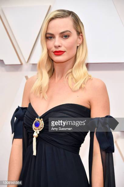 Margot Robbie attends the 92nd Annual Academy Awards at Hollywood and Highland on February 09, 2020 in Hollywood, California.