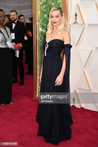 Margot Robbie attends the 92nd Annual Academy Awards at Hollywood and Highland on February 09 2020 in Hollywood California