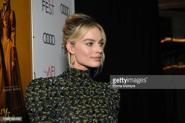Margot Robbie attends the closing night world premiere gala screening of Mary Queen Of Scots during AFI FEST 2018 presented by Audi at TCL Chinese...