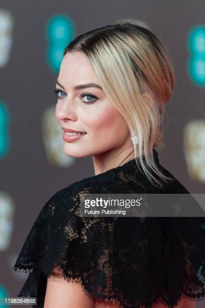 Margot Robbie attends the EE British Academy Film Awards ceremony at the Royal Albert Hall on 02 February, 2020 in London, England.- PHOTOGRAPH BY...