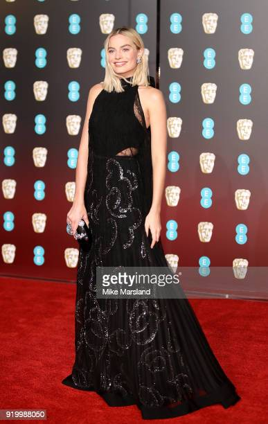 Margot Robbie attends the EE British Academy Film Awards held at Royal Albert Hall on February 18 2018 in London England