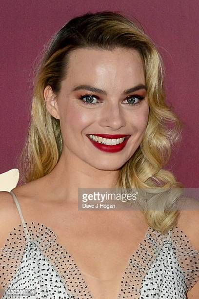 Margot Robbie attends the European Premiere of Mary Queen of Scots at Cineworld Leicester Square on December 10 2018 in London England