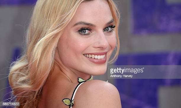 Margot Robbie attends the European Premiere of 'Suicide Squad' at Odeon Leicester Square on August 3 2016 in London England