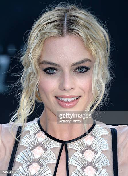 Margot Robbie attends the european premiere of 'The Legend Of Tarzan' at Odeon Leicester Square on July 5 2016 in London England