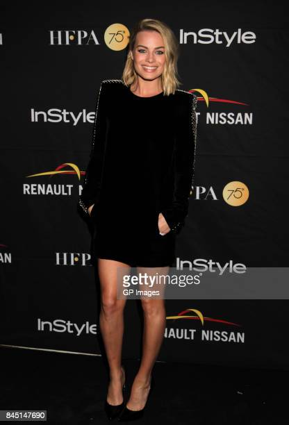 Margot Robbie attends The Hollywood Foreign Press Association and InStyle's annual celebrations of the 2017 Toronto International Film Festival at...