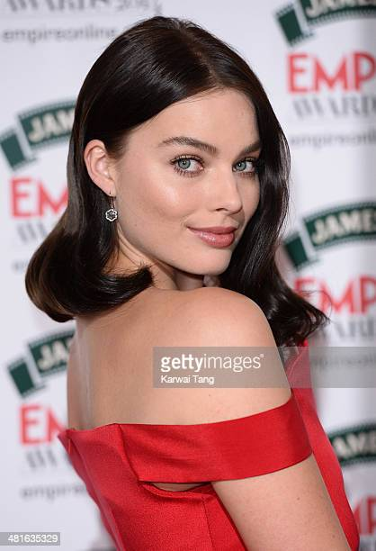 Margot Robbie attends the Jameson Empire Film Awards at Grosvenor House on March 30 2014 in London England