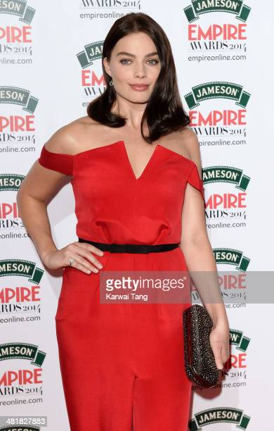 Margot Robbie attends the Jameson Empire Film Awards at Grosvenor House on March 30, 2014 in London, England.