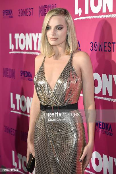 Margot Robbie attends the Los Angeles Premiere Of I Tonya Arrivals on December 5 2017 in Hollywood California