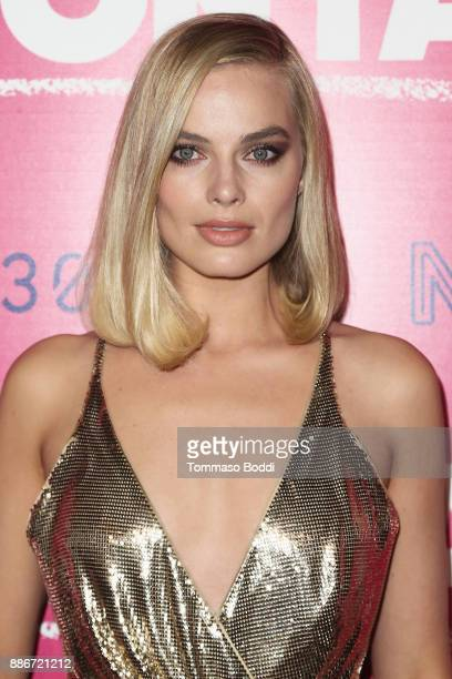 Margot Robbie attends the Los Angeles Premiere of 'I Tonya' at the Egyptian Theatre on December 5 2017 in Hollywood California