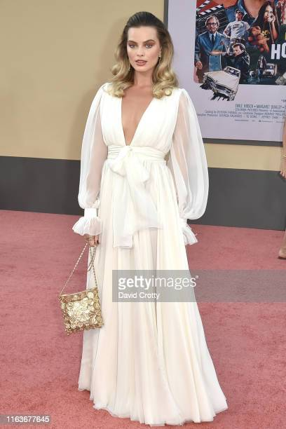 Margot Robbie attends the Los Angeles premiere of Once Upon A Time In Hollywood at TCL Chinese Theatre on July 22 2019 in Hollywood California