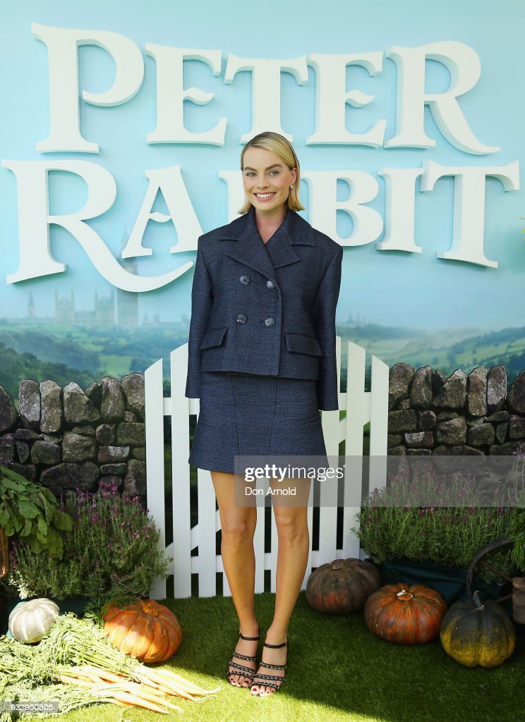 Margot Robbie attends the Peter Rabbit Australian Premiere on March 17, 2018 in Sydney, Australia.