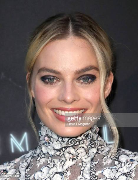 Margot Robbie attends the Premiere Of RLJE Films' Terminal at ArcLight Cinemas on May 8 2018 in Hollywood California