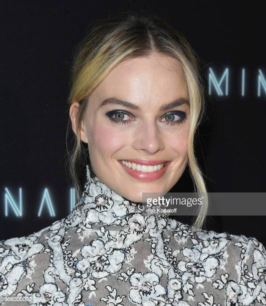 Margot Robbie attends the premiere of RLJE Films' 'Terminal' at ArcLight Cinemas on May 8 2018 in Hollywood California