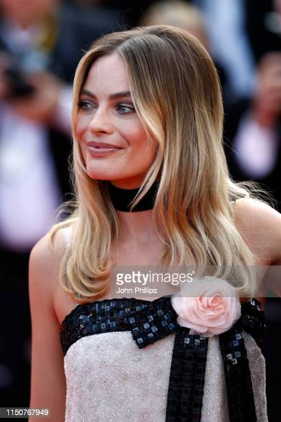 Margot Robbie attends the screening of Once Upon A Time In Hollywood during the 72nd annual Cannes Film Festival on May 21 2019 in Cannes France