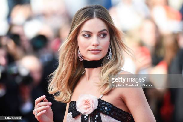 "Margot Robbie attends the screening of ""Once Upon A Time In Hollywood"" during the 72nd annual Cannes Film Festival on May 21, 2019 in Cannes, France."