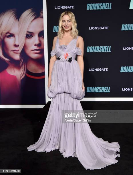 Margot Robbie attends the special screening of Liongate's Bombshell at Regency Village Theatre on December 10 2019 in Westwood California
