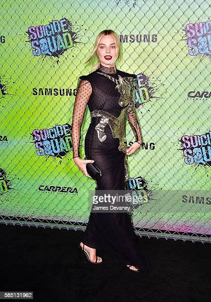 Margot Robbie attends the Suicide Squad premiere at The Beacon Theatre on August 1 2016 in New York City