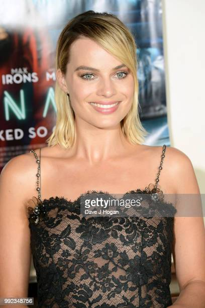 Margot Robbie attends the UK special screening of 'Terminal' at Prince Charles Cinema on July 5 2018 in London England