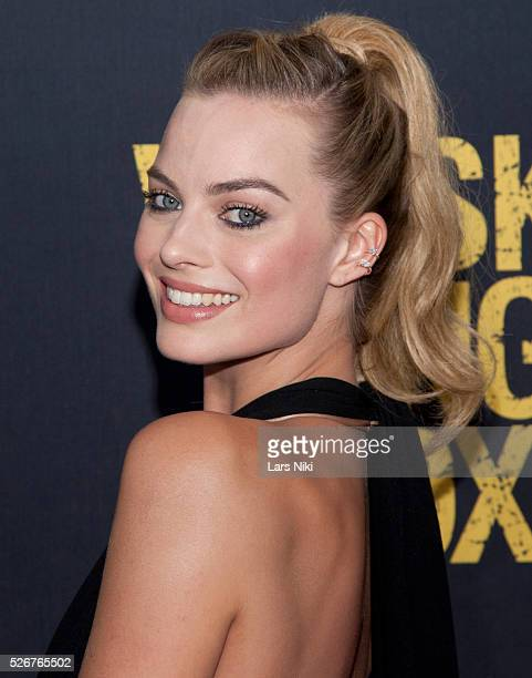 Margot Robbie attends the 'Whiskey Tango Foxtrot' New York Premiere at the AMC Loews Lincoln Square 13 in New York City �� LAN