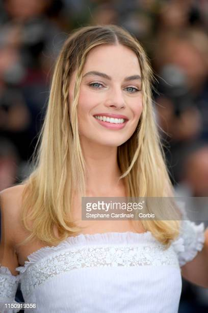 """Margot Robbie attends thephotocall for """"Once Upon A Time In Hollywood"""" during the 72nd annual Cannes Film Festival on May 22, 2019 in Cannes, France."""