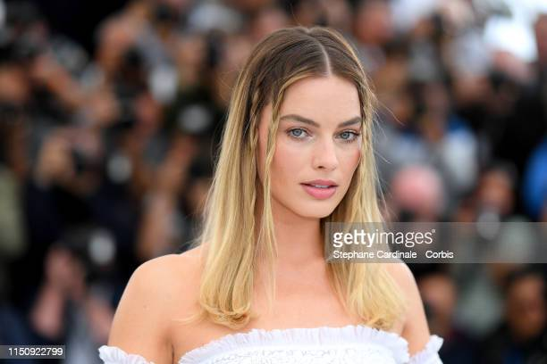 Margot Robbie attends the photocall for Once Upon A Time In Hollywood during the 72nd annual Cannes Film Festival on May 22 2019 in Cannes France