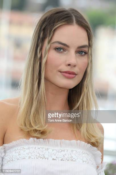 "Margot Robbie attends the photocall for ""Once Upon A Time In Hollywood"" during the 72nd annual Cannes Film Festival on May 22, 2019 in Cannes,..."