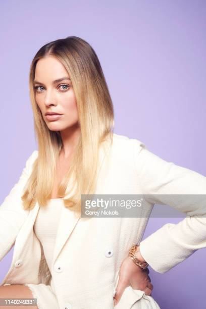 Margot Robbie from the film 'Dreamland' poses for a portrait during the 2019 Tribeca Film Festival at Spring Studio on April 28 2019 in New York City