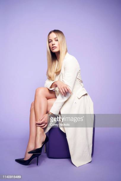 Margot Robbie from the film 'Dreamland' poses for a portrait during the 2019 Tribeca Film Festival at Spring Studio on April 28, 2019 in New York...