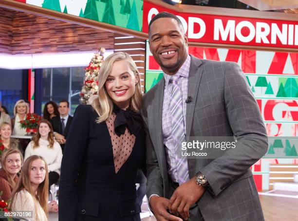 AMERICA Margot Robbie is a guest on 'Good Morning America' Thursday November 30 airing on the ABC Television Network MARGOT